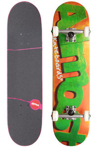Almost Actual Logo 8&quot; Complete-Board (orange green)