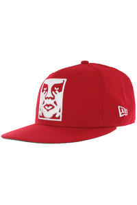 Obey Icon Fitted Cap (red)