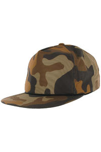 Obey Willard Snapback Cap (brown camo)