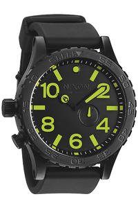 Nixon The 51-30 PU Uhr (all black lum)