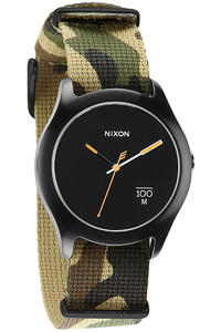 Nixon The Quad Watch (woodland camo)