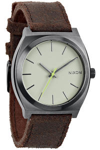 Nixon The Time Teller Watch (gunmetal brown)