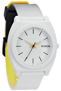 Nixon The Time Teller P Watch (black white yellow)