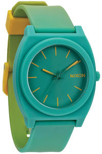 Nixon The Time Teller P Watch (yellow teal fade)