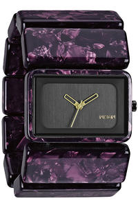 Nixon The Vega Uhr girls (gunmetal velvet)