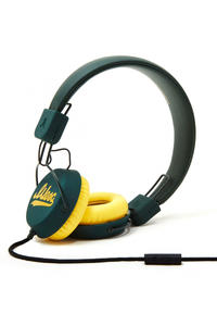 WeSC Piston Script Headphones (oil green)