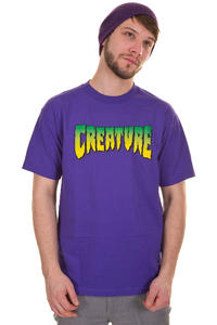 Creature Logo T-Shirt (purple)