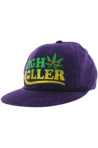 Creature High Roller Snapback Cap (purple)