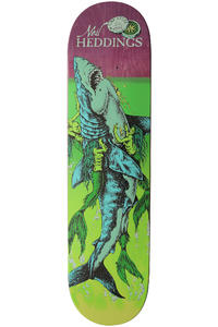 "Creature Heddings Cove 8"" Deck (purple green)"