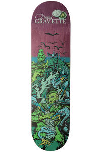 "Creature Gravette Cove 8.25"" Deck (purple green)"