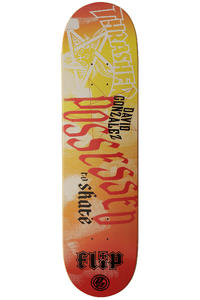 Flip Gonzales Possessed to Skate P2 8&quot; Deck (orange yellow)