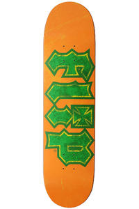 "Flip Team Thrashed 7.875"" Deck (orange green)"