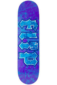 "Flip Team Thrashed 8"" Deck (purple blue)"