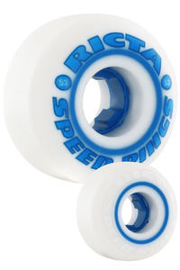 Ricta Speedrings 53mm Rollen 4er Pack  (white blue)
