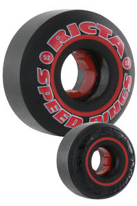 Ricta Speedrings 52mm Wheel 4er Pack  (black)