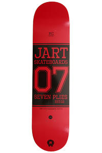 "Jart Skateboards Campus Logo 7.75"" Deck (red)"