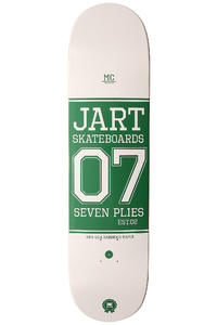 "Jart Skateboards Campus Logo 7.875"" Deck (white)"