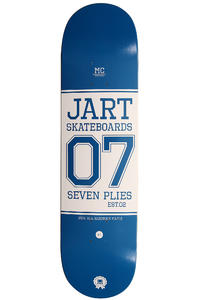 "Jart Skateboards Campus Logo 8.125"" Deck (blue)"