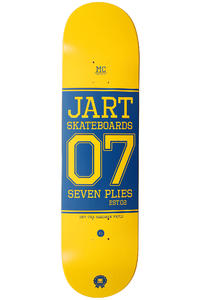 "Jart Skateboards Campus Logo 8.25"" Deck (yellow)"