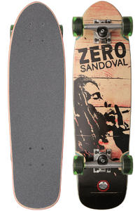 "Zero Sandoval Burning 7.5"" x 36.75"" Cruiser"