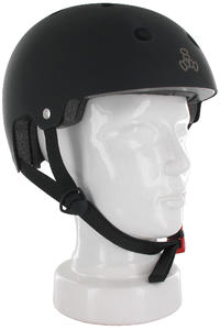Triple Eight Brainsaver Helm (black rubber)