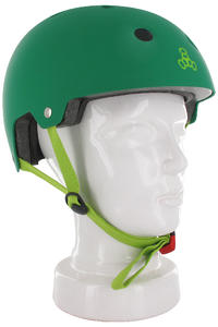 Triple Eight Brainsaver Helmet (green rubber)