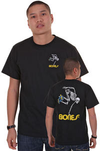 Powell Peralta Skateboard Skeleton T-Shirt (black)