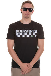 Quiksilver Checkers T-Shirt (black)