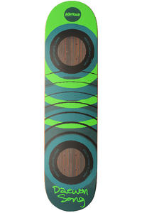 "Almost Song Fluorescent 2.0 Impact 7.75"" Deck (green)"