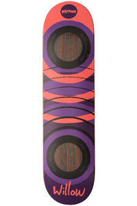 "Almost Willow Fluorescent 2.0 Impact 8"" Deck (purple red)"