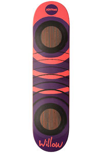 Almost Willow Fluorescent 2.0 Impact 7.625&quot; Deck (purple red)