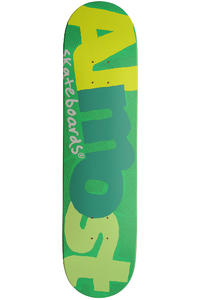 "Almost Pop Art 7.75"" Deck (green)"