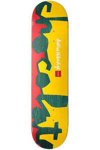 "Chocolate Eldridge Knock Out Chunk 8"" Deck (rasta)"