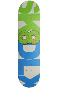 SK8DLX Donut Series 8&quot; Deck (green blue)