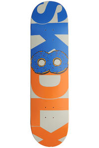 SK8DLX Donut Series 8.125&quot; Deck (blue orange)