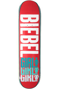 Girl Biebel Triple OG 7.875&quot; Deck (red)