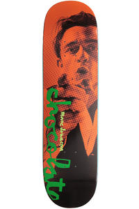 Chocolate Johnson Highwaymen 8.5&quot; Deck (orange black)