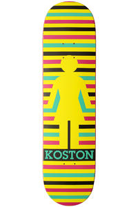 Girl Koston Geo 8.25&quot; Deck (multi)