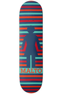 Girl Malto Geo 8.125&quot; Deck (multi)