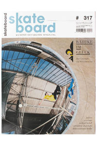 Skateboard MSM Monster Skateboard Magazin # 317 2013