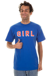 Girl Blocks T-Shirt (royal)
