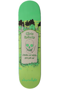 Chocolate Roberts Tombstone 8&quot; Deck