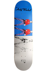 "Alien Workshop Warhol Elvis Ivonic II 8.125"" Deck (blue grey)"