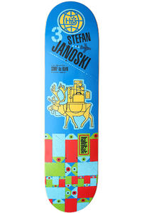"Habitat Janoski Pack Animal 8.125"" Deck (blue)"