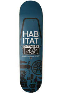 "Habitat Point & Shoot 7.875"" Deck (blue)"
