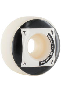 Trap Skateboards Tech Dogs 51mm Rollen 4er Pack  (white black)