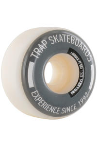 Trap Skateboards Pool Dogs 54mm Wheel 4er Pack  (white silver)