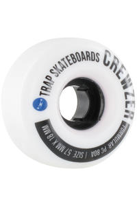 Trap Skateboards Pool Dogs Crewzer 57mm Rollen 4er Pack
