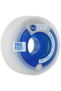 Trap Skateboards Elles Purebred Dogs 51mm Rollen 4er Pack  (white blue)
