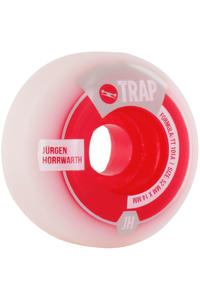 Trap Skateboards Horrwarth Purebred Dogs 52mm Rollen 4er Pack  (white red)
